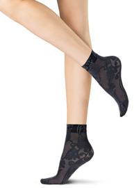Oroblu pantysokje Bellflower - zwart