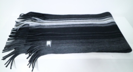Herenshawl art. 2912 - zwart/grijs