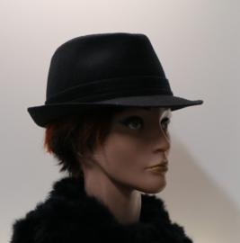 Stetson hoed Trilby art. 1110102 - zwart