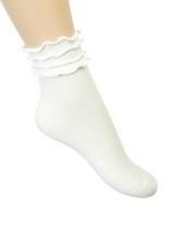 Bonnie Doon Frou-Frou Sock art. BE61.31.09 - offwhite