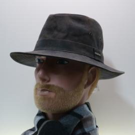 Hatland hoed Thurman art. 58016 - bruin
