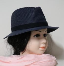 Andrea meisjeshoed art. 10677 - donkerblauw