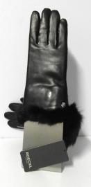 Roeckl dames handschoen leer art. 11012-353 - zwart