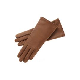Roeckl lederen dameshandschoen Classic Wool art. 13011-202 - cognac