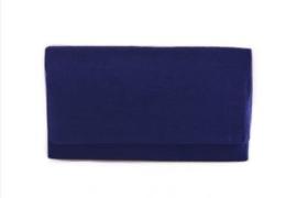 Gelegenheidstasje Zonderen - kobaltblauw
