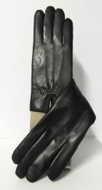 Roeckl lederen dameshandschoen met wolvoering art. 13011-220 - zwart