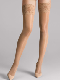 Wolford Satin Touch 20 Stay-Up art. 21223 - caramel
