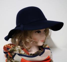 McBURN dameshoed art. 2502 - donkerblauw