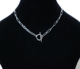 Halsketting  art. 12000 - zilverkleur