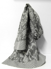 Romano damesshawl art. 6680-1-22 - taupe