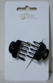 Dam'selle haarklemmetjes art. 21 770 - zwart