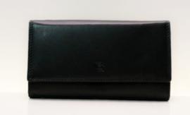 Gio Gini damesportemonnee art. 05D307 - zwart