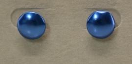 Oorbel steker art. 7680 - blauw