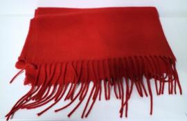 Unisex shawl uni art. 57507 - rood