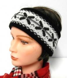 Fiebig hoofdband  art. 56063 - zwart/grijs/offwhite