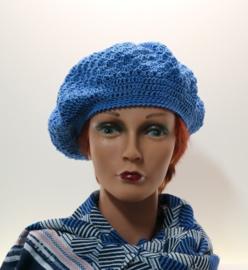 Damesbaret Sanne - koningsblauw