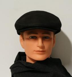 Hatland herenpet Philip leather art. 57017 - zwart