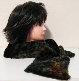 Laine Bonnet panterbontje art. 1308 - bruin/zwart
