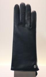 Roeckl lederen dameshandschoen Classic Wool art. 13011-202 - donkerblauw