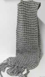 Laine Bonnet damesshawl art. 4104 - grijs