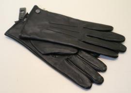 Roeckl lederen dameshandschoen Smart Classic met fleecevoering art. 13011-019 - zwart