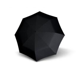 Knirps T.771 Long Automatic paraplu Stripe art. 96 3771 7603 - donkergrijs