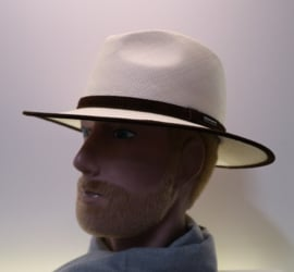 Stetson Traveller Panama hoed art. 2468414 - naturel