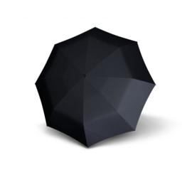 Knirps T.771 Long Automatic paraplu Pattern art. 96 3771 7601 - donkergrijs