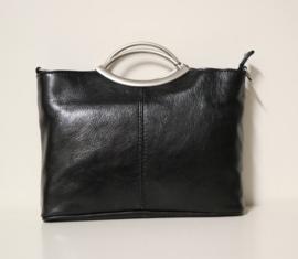 Hand- en schoudertas art. 552506 - zwart