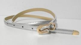 Damesriempje lak art. 6259 - zilverkleur/goudkleur