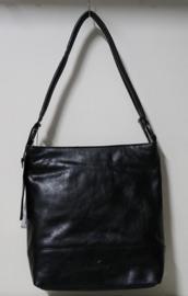 Micmacbags hand- en schoudertas art. 18050 - zwart