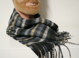 Fiebig shawl art. 46496 - antraciet
