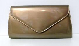 Gelegenheidstas art. 3167 - taupe/brons