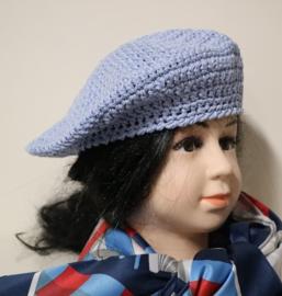 Kinderbaret Erna 9 - lichtblauw