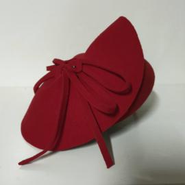 Complit dameshoed art. 21260 - rood