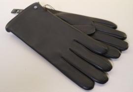 Roeckl lederenheren handschoen Classic Fleece art. 13011-598 - donkerbruin