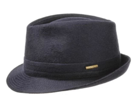 Stetson hoed Trilby art. 1110102 - donkerblauw