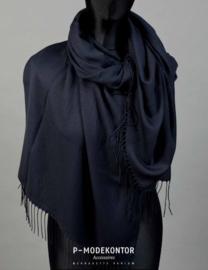 P-Modekontor pashmina shawl art.  1032100-15 - marine