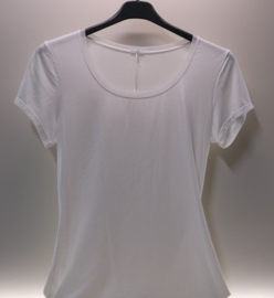 Oroblu Perfect Line T-shirt round neck short sleeve - ivory