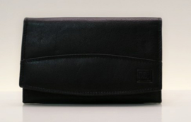 DD damesportemonnee art. 02C315 - zwart