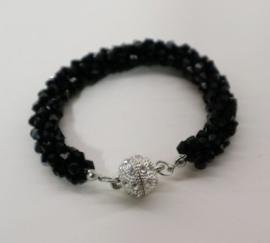 Armband art. 9422 - zwart