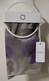 Oroblu pantysokje Watercolor - (zilver)grijs/lila