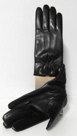 Roeckl lederen dameshandschoen met wolvoering art. 13011-220 - donkerblauw