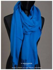 P-Modekontor pashmina shawl art.  1032100-12 - kobalt