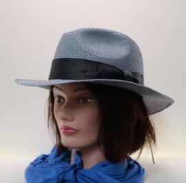 McBurn dameshoed art. 4740 - donkerblauw/wit