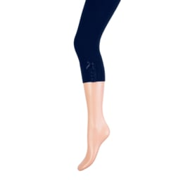 Yellow Moon capri legging art. 20244 - donkerblauw