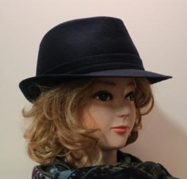 Stetson hoed Trilby art. 1110102 - donkerblauw