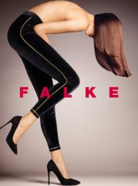 FALKE velvet legging - zwart