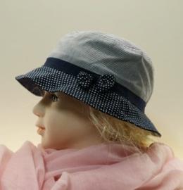 McBurn kinderhoedje art. 47981 - blauw/wit