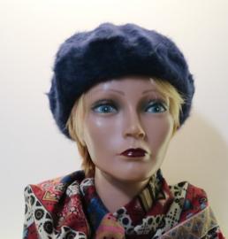 McBURN angorabaret de Luxe art. 2305 - donkerblauw